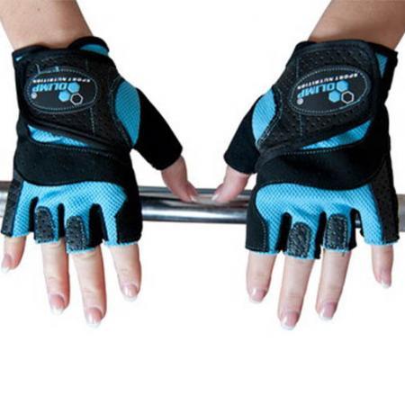 Перчатки женские Olimp Hardcore Fitness Star - голубые
