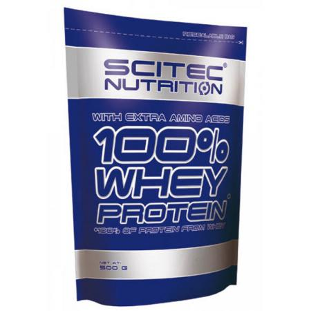 Scitec 100% Whey Protein, 500 грамм