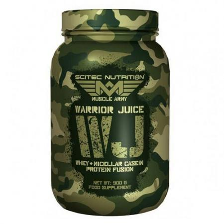 Scitec Muscle Army Warrior Juice, 900 грамм