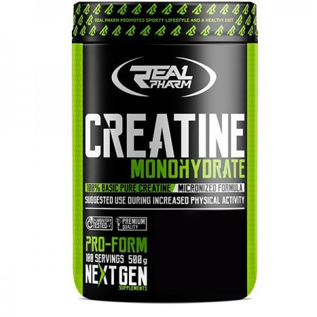 Real Pharm Creatine Monohydrate, 500 грамм