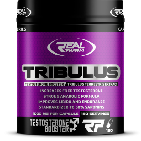 Real Pharm Tribulus, 150 капсул