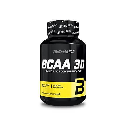 BioTech BCAA 3D, 180 капсул
