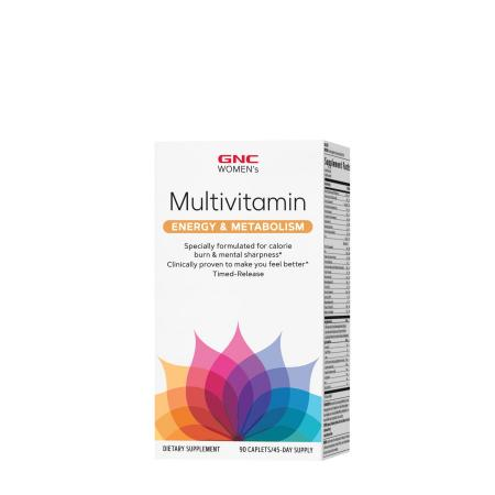 GNC Women's Multivitamin - Energy & Metabolism, 90 box