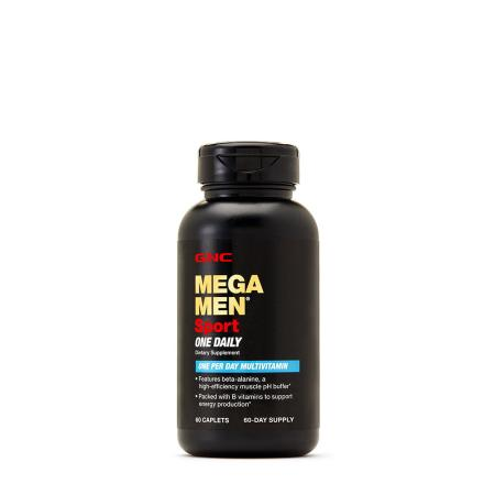 GNC Mega Men Sport One Daily, 60 каплет