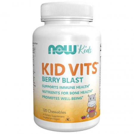 NOW Kid Vits, 120 таблеток