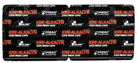Olimp Kre-Alkalyn 2500 Mega Caps, 30 капсул