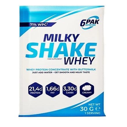 6PAK Nutrition Milky Shake Whey, 30 грамм