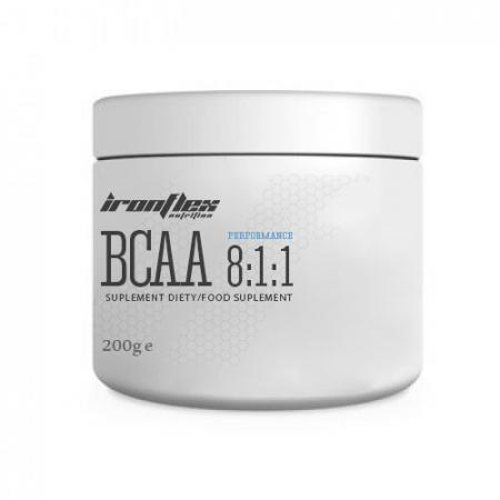 IronFlex BCAA 8-1-1 Performance, 200 грамм