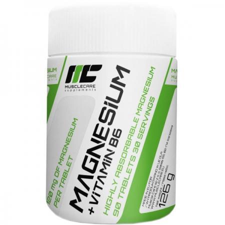 Muscle Care Magnesium+B6, 90 таблеток