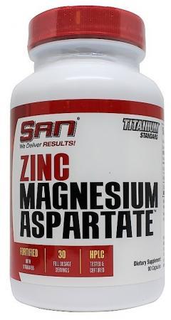 SAN Zinc Magnesium Aspartate, 90 капсул