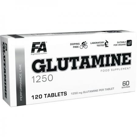 Fitness Authority Glutamin 1250, 120 таблеток