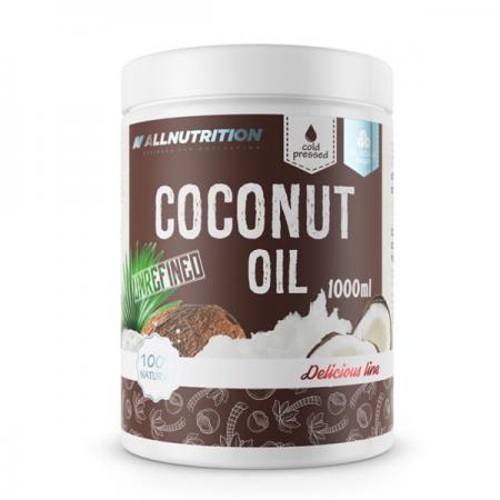 AllNutrition Coconut Oil, Unrefined 1000 мл - Delicious Line