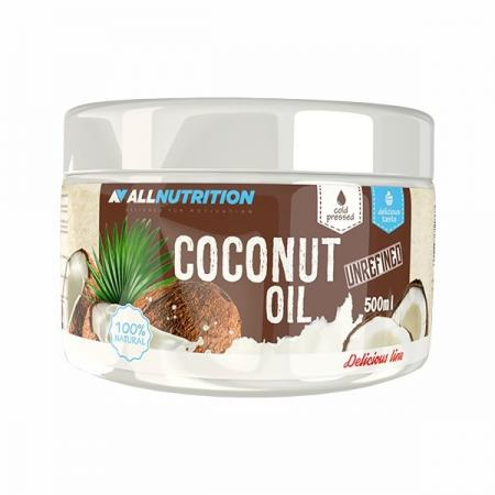 AllNutrition Coconut Oil, Unrefined 500 мл - Delicious Line