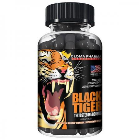 Cloma Pharma Black Tiger, 100 капсул