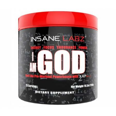 Insane Labz I Am God, 296 грамм