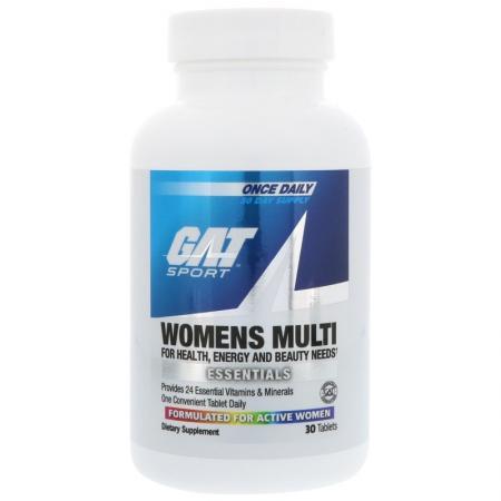 GAT Essentials Womens Multi Vitamin, 30 таблеток