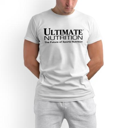 Футболка Ultimate Nutrition - белая
