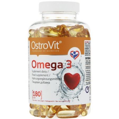 OstroVit Omega 3, 180 капсул