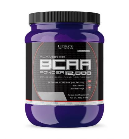 Ultimate BCAA 12 000 Powder, 228 грамм