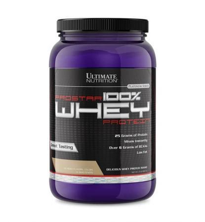 Ultimate Prostar 100% Whey Protein, 908 грамм