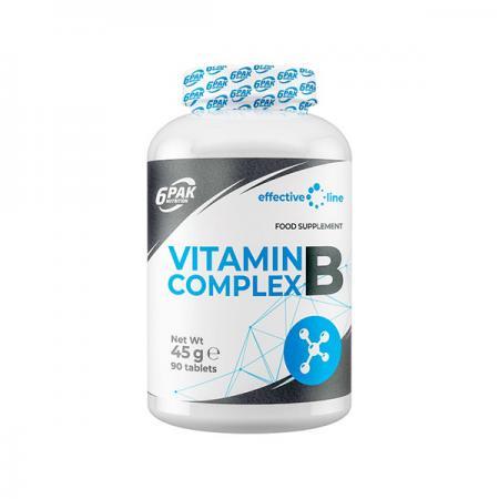 6PAK Nutrition B Complex, 90 таблеток