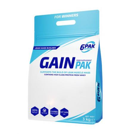 6PAK Nutrition Gain Pak, 3 кг