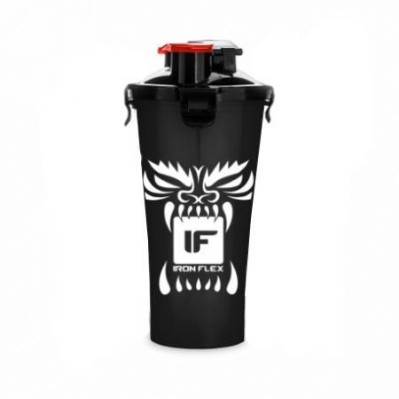 IronFlex Hydra Cup Drakon, 828 мл - черный