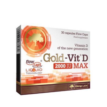 Olimp Gold Vit D Max, 30 капсул