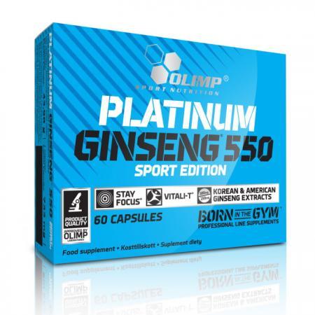 Olimp Platinum Ginseng, 60 капсул - Sport Edition