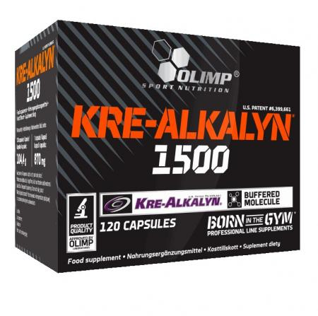 Olimp Kre-Alkalyn 1500 Mega Caps, 120 капсул