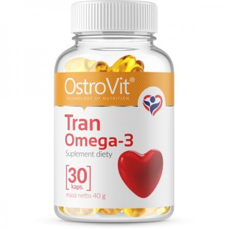 OstroVit Tran Omega 3, 30 капсул
