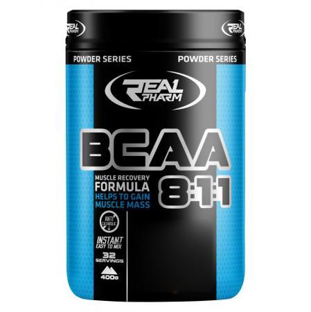 Real Pharm BCAA 8:1:1, 400 грамм