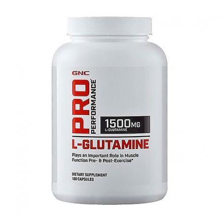 GNC L-Glutamine, 180 капсул