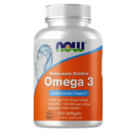 NOW Omega-3, 500 капсул