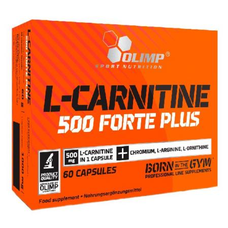 Olimp L-Carnitine 500 Forte plus Sport Edition, 60 капсул