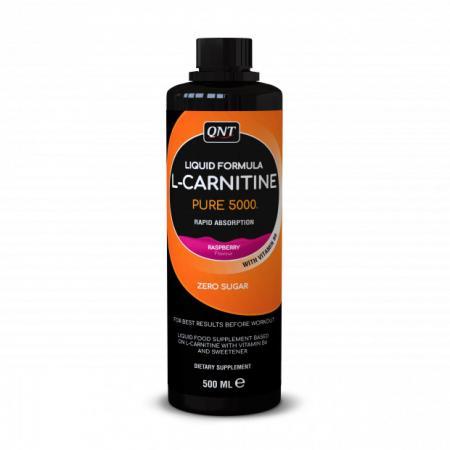 QNT L-Carnitine Liquid, 500 мл - малина