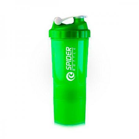 Шейкер Spider Bottle Mini2Go - зеленый