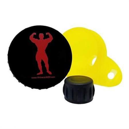 Мерная воронка Universal Funnel 30 грамм, желтая с черной крышкой