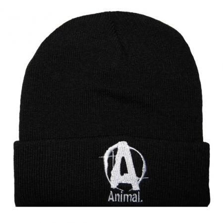 Шапка Animal - черная