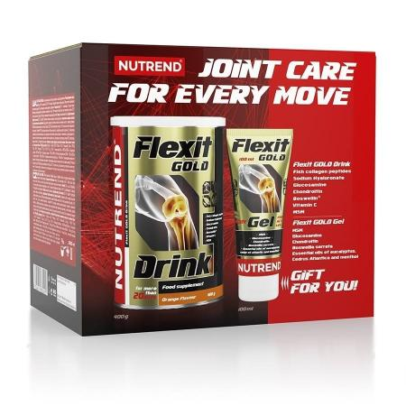 Nutrend Flexit Gold Drink , 400 грамм + Flexit Gold Gel, 100 мл