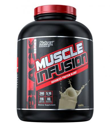 Nutrex Research Muscle Infusion, 907 грамм  - Ваниль