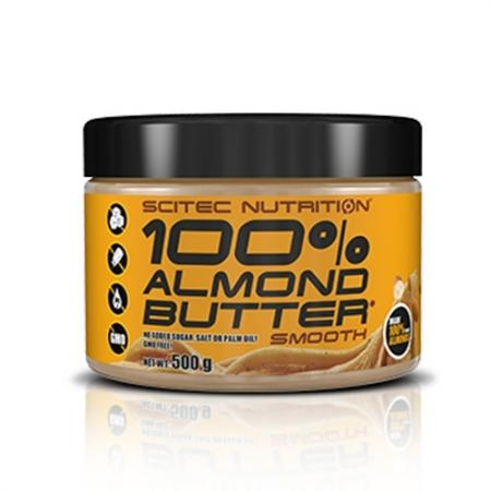 Scitec 100% Almond Butter, 500 грамм
