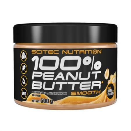 Scitec 100% Peanut Butter, 500 грамм