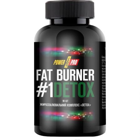 Power Pro Fat Burner №1 DETOX, 90 капсул