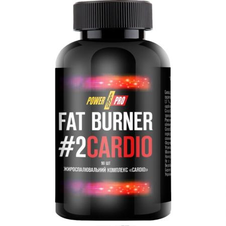 Power Pro Fat Burner №2 CARDIO, 90 капсул