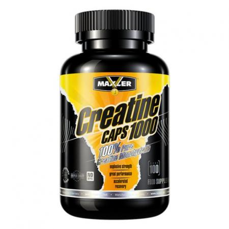 Maxler Creatine Caps 1000, 100 капсул