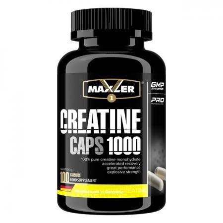 Maxler Creatine Caps 1000, 100 капсул