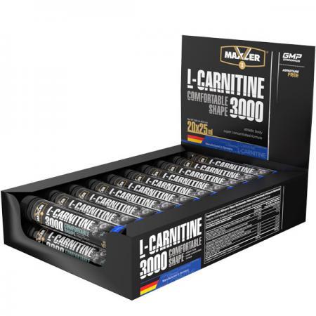 Maxler L-Carnitine Comfortable Shape 3000, 20 шт 25 мл