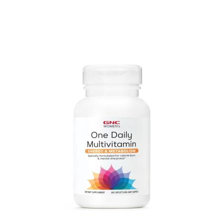 GNC Women's One Daily Multivitamin Energy and Metabolism, 60 капсул
