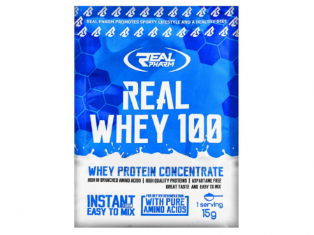 Real Pharm Real Whey 100 sample